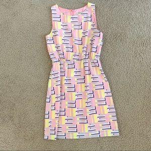 J. Crew Geo Print Dress